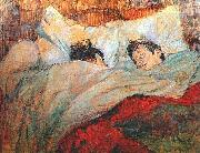 In Bed, Henri de toulouse-lautrec
